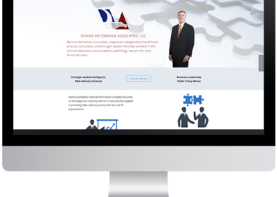 Healthcare Consultant Web Design – Dennis Weissman & Associates, LLC