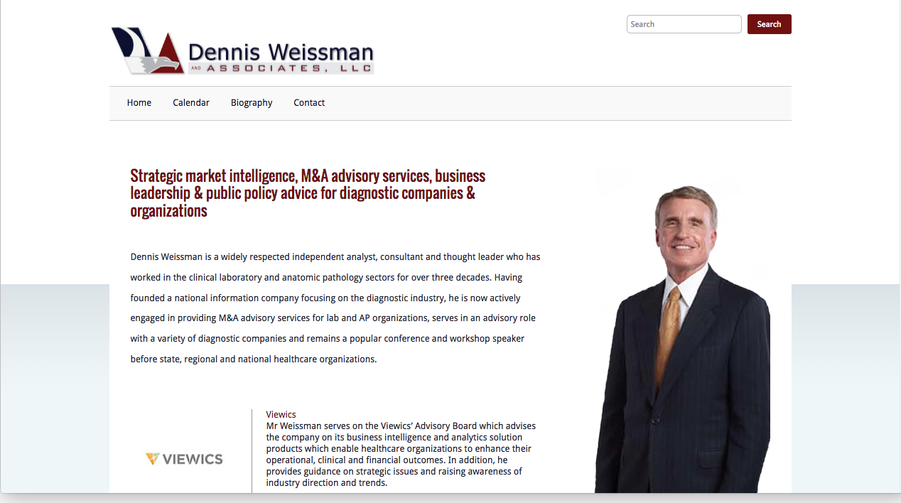 Washington DC WordPress Web Designer for Consultants and Small Business