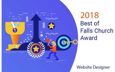 Best Website Designer of 2018 Award