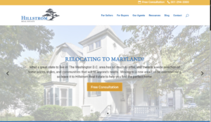 Washington DC Real Estate Web Design