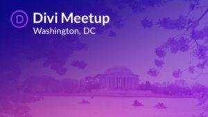 Divi WordPress Washington DC