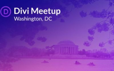 First Divi WordPress Washington DC Meetup