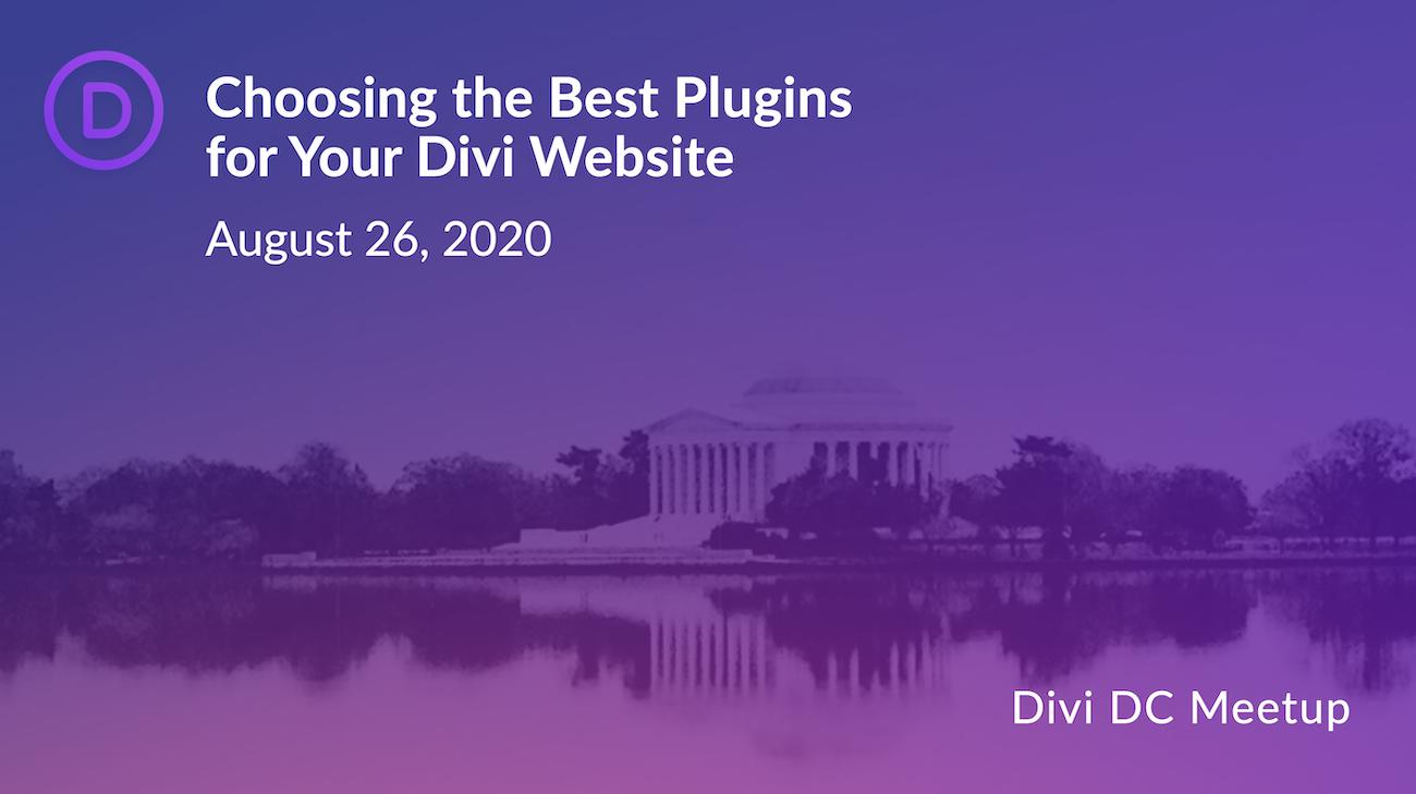 Choosing the Best WordPress Plugins for Your Divi Website