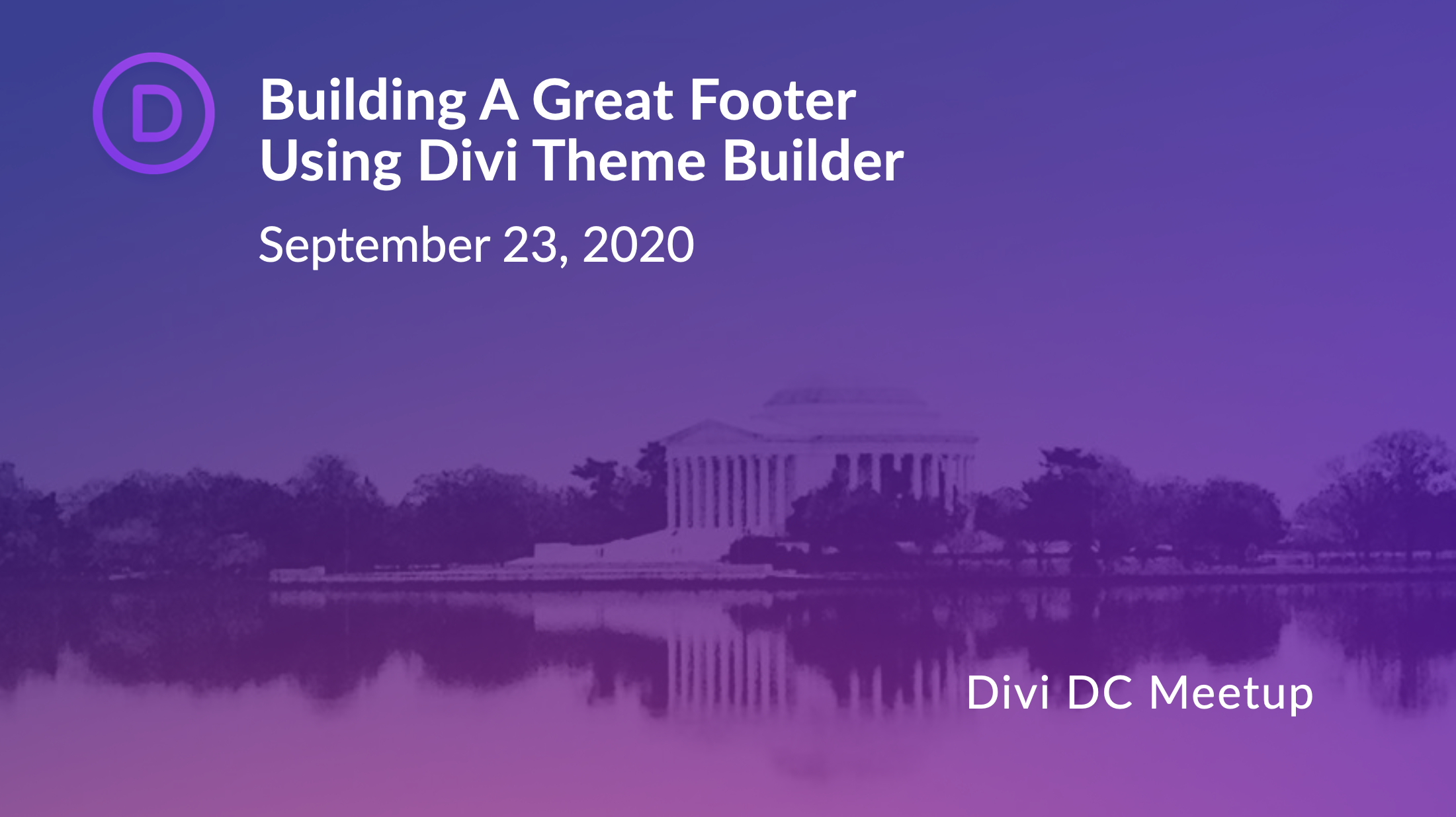 Building a Great Divi footer Layout