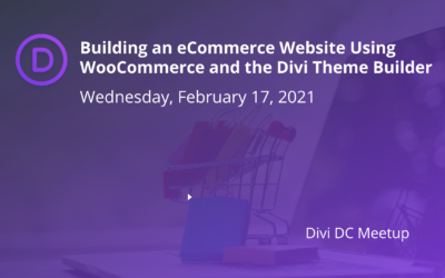 Building an eCommerce Website Using WooCommerce and the Divi Theme Builder