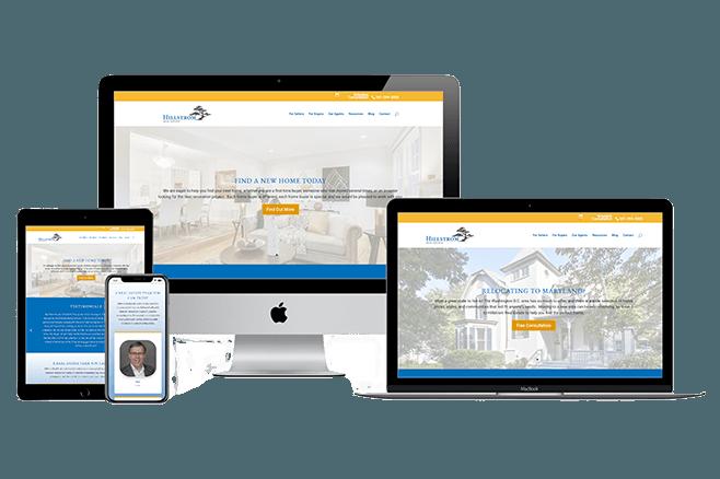 Real Estate Web Designer-near Washington DC